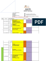 Course Plan PRJ101 CJ Spring 2013 Block 2