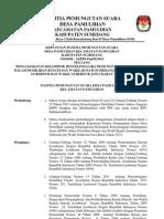 SK PPS Tentang Pengangkatan KPPS