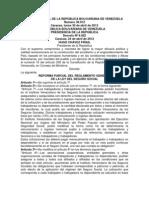 Reglamento Del Seguro Social 2012