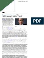 Li Ka-Shing's Midas Touch - Forbes