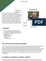 "Gérard Filoche - Wikipédia"""
