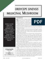 The Cordyceps sinensis Medicinal Mushroom