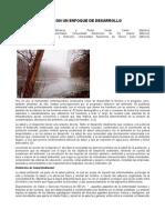 Salud Ambiental, Con Un Enfoque de Desarrollo Sustentable