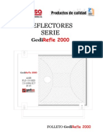 CATALOGO de Luminaria GediREFLE 2000
