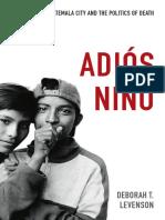 Adiós Niño by Deborah T. Levenson