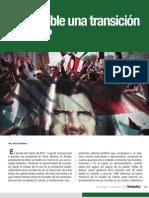 ¿Es posible una transición en Siria?