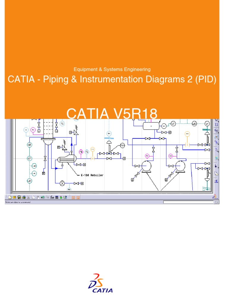 Catia Piping Instrumentation Diagrams 2 Pid Brouche Diagram C Programming Language