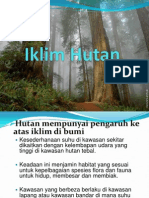 Iklim Hutan