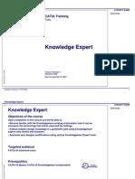 Edu Cat en Kwe Ff v5r17 Knowledge Expert Student Guide