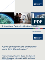 Career development and employability - same thing different names?