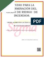 ESTUDIO PARA LA DETERMINACIÓN DEL GRADO DE RIESGO  DE INCENDIOS DE CREI CENTRO REGULADOR DE EMERGENCIAS INDUSTRIALES (Reparado)