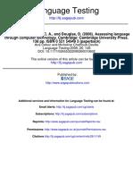 BR Assessing Language Through COMPUTER TECHNOLOGY