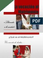 La vocación al Matrimonio