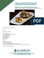 Veal Loin Recipe PDF