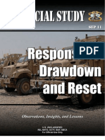 Responsible Drawdown and Reset