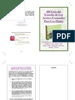 110 Usos de los Aceites Esenciales de Young Living en su kit de los Aceites de Uso Diario