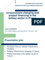 F-Antoniazzi Infrastructure Charging and Project Financing in the Railway Sector in France