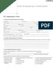 Admission Form - IfC Pakistan Chapter
