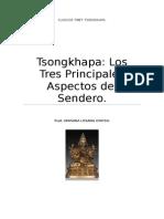 Tsongkhapa Los Tres Principales Aspectos Del Sendero