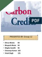51688394 Carbon Credits Final Presentation 1