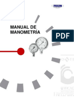 Manual de Manometria