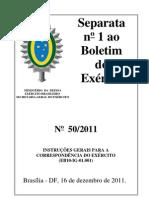 EB10-IG-01.001 - Correspondencia Exército