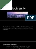 New Biodiversity