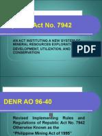 Republic Act No. 7942
