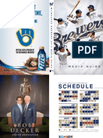 Milwaukee Brewers 2013 Media Guide