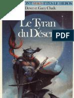 Loup Solitaire 05 - Le Tyran Du Desert