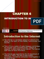 Chapter 6 - Introduction to Internet