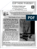 Bulletin for March 2-3-2013