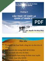 Chuong 5 - Cau Truc to Chuc Va Quan Ly Nhan Su