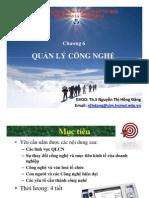 Chuong 6 - Quan Ly Cong Nghe