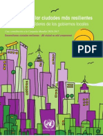 Cómo desarrollar ciudades más resilientes