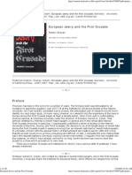 European Jewry and the First Crusade - Chazan, Robert