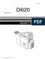 Service Manual MINOLTA DiALTA Di620