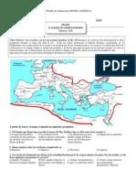 Roma. Imperio y Legado DIAGNOSTICO