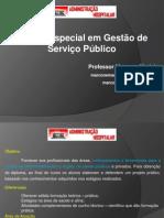 1ª Administração Hospitalar - Gestão Estratégica - 06-02-2013