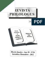 Resenha História da Filologia Românica