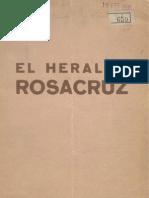 El Heraldo Rosacruz. 1-1935, n.º 1