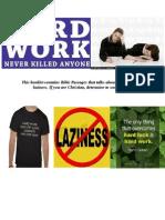 Laziness and Hardwork 1