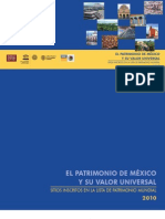 El Patrimonio de México y su valor universal. Sitios inscritos en la Lista de Patrimonio Mundial  (2010).pdf