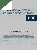 Operasional Sistem Kendali Elektropneumatik