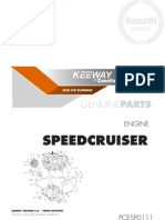 Despiece Motor Keeway SPEED CRUISER 250 (Idioma Castellano)