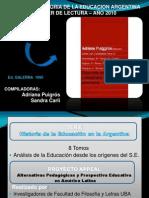 Discursos e imaginario social Puigrós y Carli.ppt