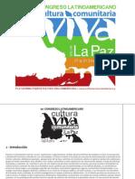 110895987 1er Congreso Latinoamericano Cultura Viva Comunitaria