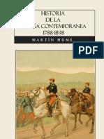 Hume Martin - Historia De La España Contemporanea