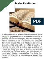 A suficiência das Escrituras