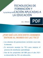 Tics APLICADAS A LA EDUCACIÓN